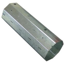 - Stahlwelle SW 70, 8-Kant Ø 70 mm, verzinkt, 1,0 mm Wandung