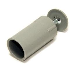 Selve Anschlagstopfen, Länge 40 mm, grau