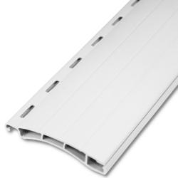 - Kunststoff-Rollladenstab Mini MK38, 8 x 38 mm, mit Lichtschlitzen, weiß