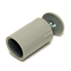 Selve Anschlagstopfen, Länge 30 mm, grau