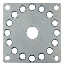 Adapterplatte für Blendkappen | für Rohrmotore mit Handkurbelanschluss