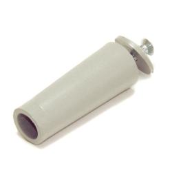 Selve Anschlagstopfen, Länge 60 mm, grau