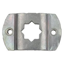 enobi Motorlager M6 für Markisen mit Aufnahme für 16 mm Vierkant ; Lochabstand 48 mm