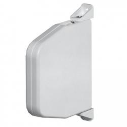 Selve Mini-Gurtwickler schwenkbar ohne Gurt, 22 mm breit, bis 15 mm Gurt, weiß