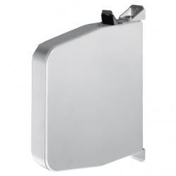 Selve Mini-Getriebe-Gurtwickler ohne Gurt, schwenkbar, bis 15 mm Gurt, weiß