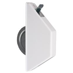 Selve Mini-Halbeinlass-Gurtwickler ohne Gurt, für 15 mm Gurt, weiß