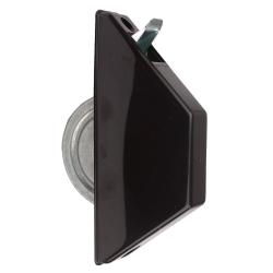 Selve Mini-Halbeinlass-Gurtwickler ohne Gurt, für 15 mm Gurt, braun