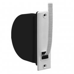 Selve Mini-Einlaß-Gurtwickler flach mit 5 m Gurt und Mauerkasten, für 15 mm Gurt, Haube weiß