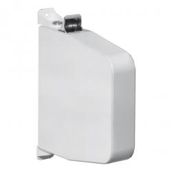 Selve Aufschraub-Gurtwickler mit Gehäuse ohne Gurt, Gurtaufnahme 5,3 m, schwenkbar, bis 23 mm Gurt, weiß