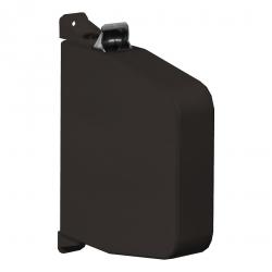 Selve Aufschraub-Gurtwickler mit Gehäuse ohne Gurt, Gurtaufnahme 5,3 m, schwenkbar, bis 23 mm Gurt, braun