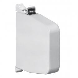 Selve Aufschraub-Gurtwickler mit Gehäuse ohne Gurt, Gurtaufnahme 7 m, schwenkbar, bis 23 mm Gurt, weiß