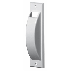 Selve Abdeckhaube für Halbeinlass-Gurtwickler mit 176 mm Lochabstand, weiß