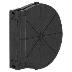 Selve Getriebe Mauerkasten aus Kunststoff für Einlass-Gurtwickler, Lochabstand 185 mm, bis 13,5 m Gurt