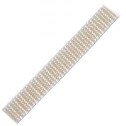 Stahl Rollladengurt 12 mm Breite (21/12), 50 Meter Rolle, beige