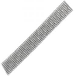 Stahl Rollladengurt 16 mm Breite (21/16), 50 Meter Rolle, grau