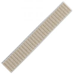 Stahl Rollladengurt 16 mm Breite (21/16), 50 Meter Rolle, beige