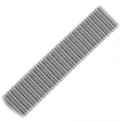 Stahl Rollladengurt 20 mm Breite (21/20), 50 Meter Rolle, grau