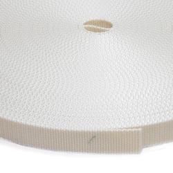 Stahl Rollladengurt Rogu 21/23, 23 mm Breite, 50 Meter Rolle, beige