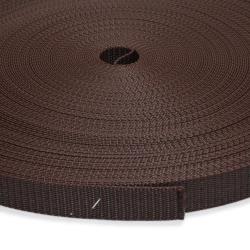 Stahl Rollladengurt Rogu 21/23, 23 mm Breite, 50 Meter Rolle, braun