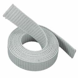 Stahl Rollladengurt 18 mm Breite (21/18 - für Fertighäuser), 50 Meter Rolle, grau