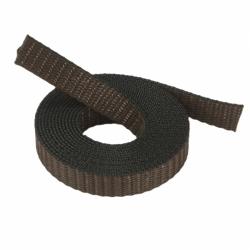 Stahl Rollladengurt 18 mm Breite ( für Fertighäuser), 50 Meter Rolle, braun