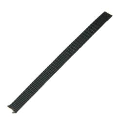 Stahl Gurtband für Dachfensterrollladen 6 mm Breite, schwarz