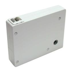 enobi Mini-Getriebe-Kurbelwickler für Gurtband, ohne Gurt, weiß