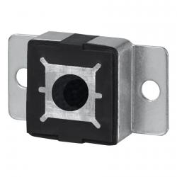 Selve Schwinglager mit Haltelaschen für 12 mm Achsstift