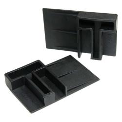 enobi Rollladensicherung aus Kunststoff (Klemmsicherung, Hochschiebesicherung, Rollladenklemme), Paar