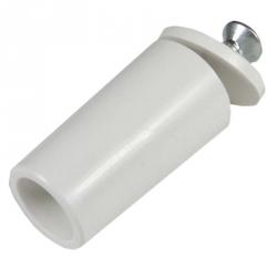 enobi Anschlagstopfen ST, Stopper, Länge 39 mm, weiß