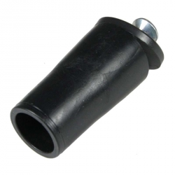 enobi Anschlagstopfen ST, Stopper, Länge 39 mm, schwarz