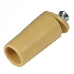 enobi Anschlagstopfen ST, Stopper, Länge 39 mm, ocker