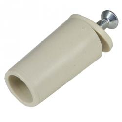 enobi Anschlagstopfen ST, Stopper, Länge 39 mm, elfenbein (creme)