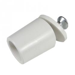 enobi Anschlagstopfen ST, Stopper, Länge 26 mm, weiß
