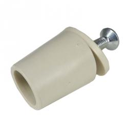 enobi Anschlagstopfen ST, Stopper, Länge 26 mm, elfenbein (creme)