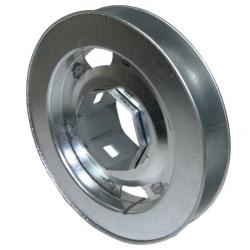 enobi Gurtscheibe MT aus Metall für SW 60 mm, verschiebbar, Durchmesser 22 cm