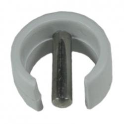 Selve Sicherungsring für Kurbelstange mit 15 mm Durchmesser, grau