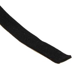 enobi Geräuschdämmende Neopren-Einlage 10 x 2 mm, selbstklebend, Schwarz