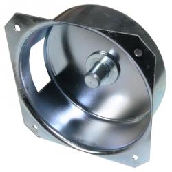 Selve Haube für außenliegenden Gurtantrieb, Tiefe 36 mm, für Vorbaurolladen