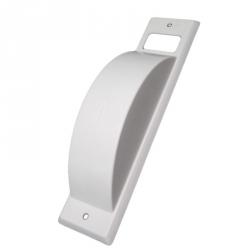 enobi Abdeckhaube für Halbeinlass-Gurtwickler ST , 200 mm Lochabstand, Kunststoff weiß