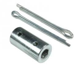 enobi Verbindungsstück für 7 mm 6-Kantstab SW7