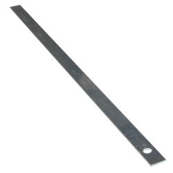 enobi Schmale Beschwerungseisen, 430 x 16 x 2 mm, 160 Gramm