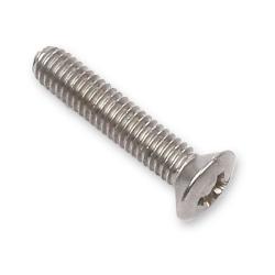 enobi Schraube zu Öse aus Kunststoff, M4 x 20 mm