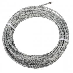 enobi Drahtseil 1,8 x 5 aus Stahl, Durchmesser Ø 1,8 mm, Länge 5 Meter ; Stahlseil