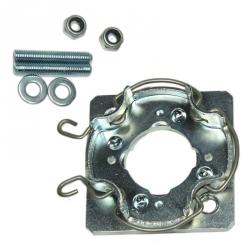 Rademacher Motorlager für Markisen mit Gewinde M6 auf Teilkreis 48 bzw. M8 auf Teilkreis 60 mm ; für Rademacher Rohrmotoren RolloTube Medium, 5 Jahre Garantie