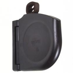 Selve Mini-Gurtwickler Click mit 5 m Gurt, schwenkbar, aufklappbar, braun