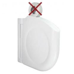 Selve Mini-Gurtwickler Click ohne Gurt, schwenkbar, aufklappbar, weiß
