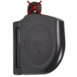 Selve Mini-Gurtwickler Click ohne Gurt, schwenkbar, aufklappbar, braun