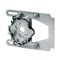 Selve Spannlager aus Stahl für Vorbaurollladen 110 - 165 mm, max. 30 Nm ; für Selve Rohrmotoren Baureihe 2
