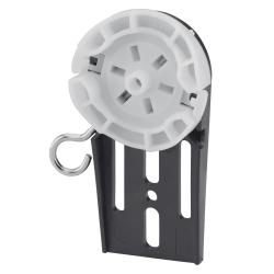 Selve Abrolllager aus Kunststoff für Rolladen-Fertigkästen, max 20 Nm ; für Selve Rohrmotoren Baureihe 2